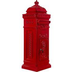 Säulenbriefkasten, Postkasten antik rot  #Briefkasten #Modern #Design #Boxes #Mail #Haus #Antik #Stahl #Steel #Garden #Rustic #Rustikal #Mailbox #Metal #Cool #Old #Awesome #Edelstahl #Aluminium #Englisch #Britisch #Postkasten #Standbriefkasten #Wandbriefkasten #Zeitungsrolle