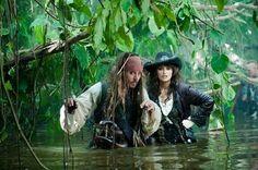 Pirates of the Caribbean 4 On Stranger Tides. I love Johnny Depp at Capt Jack Sparrow.
