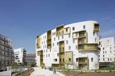 Built by Guerin & Pedroza Architectes in Issy-les-Moulineaux, France with…