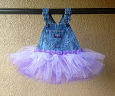 Have a special occasion coming up? A Photo shoot? or a birthday party? This Tutu Denim Overall Dress will sure make your special girl stand out! Would