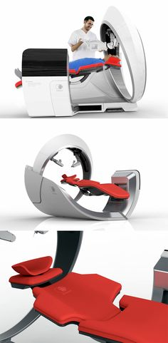 'Vitreous' is a robot that aims at making the scenario of transatlantic retinal surgery a little easier to digest, it's not only designed to look visually pleasing but also confident to make the medical procedure a lot less daunting... READ MORE at Yanko Design!