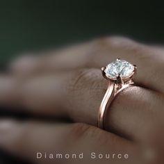 Rose Gold Engagement Ring, Round Diamonds, Beats, Jewelery, White Gold, Wedding Rings, Yellow, Classic, Design