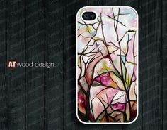 iphone case unique iphone 4 case iphone 4s case iphone 4 cover  abstract paint design. $13.99, via Etsy.