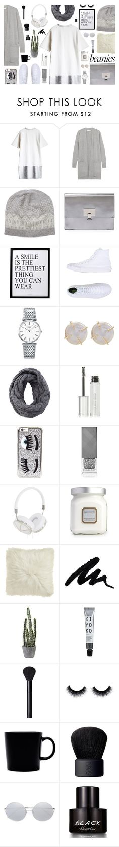 """""""Beanies (CONTEST ENTRY)"""" by jafashions ❤ liked on Polyvore featuring MICHAEL Michael Kors, Pure Collection, Proenza Schouler, 3R Studios, Converse, Longines, Melissa Joy Manning, Givenchy, Chiara Ferragni and Burberry"""