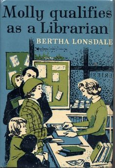 """Vintage books: ""The Body in the Library"", Agatha Christie & ""Molly qualifies as a Librarian"", Bertha Lonsdale, Library Humor, Library Posters, I Love Books, Books To Read, My Books, Reading Library, Library Books, Reading Books, Vintage Book Covers"