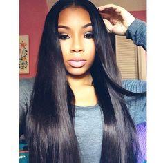Love straight hair