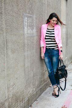 Kendi Everyday- Boyfriend Jeans Outfit Idea