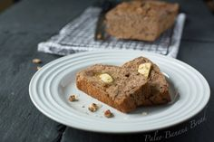Paleo Banana Bread-wow this was one of the best banana breads I've ever made and it was healthy :) i added raw cacao powder for a chocolatey taste!