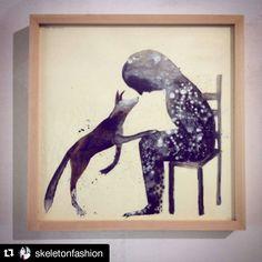 #Repost @skeletonfashion  #mybiennalern @biennaledisegno #museodellacittà #cantieredeldisegno #denisriva