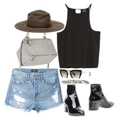 """Untitled #1375"" by samikayy76 ❤ liked on Polyvore featuring Ström, Givenchy, Zara, Miu Miu and Bottega Veneta"