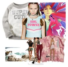 """so superpowered"" by leotajane ❤ liked on Polyvore featuring art and truth"