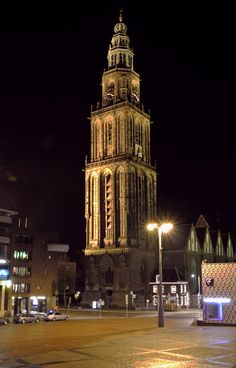 Martinitoren Groningen, Netherlands  Where my great-great-great grandma was born