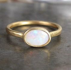 opal. Would want in white gold