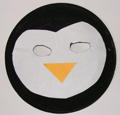 Penguin mask craft