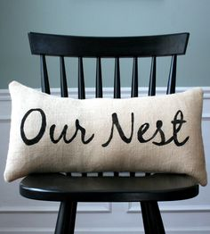 Our Nest Pillow | Scoutmob