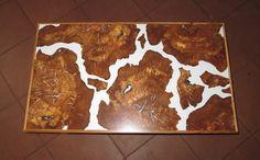 Couchtisch aus Olivenholz  von Intarsienwelt auf DaWanda.com