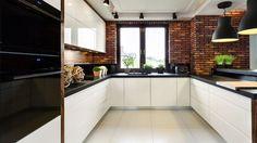 Home Decor Kitchen, Kitchen Furniture, Kitchen Interior, Brick Interior, Home Interior Design, Brick Wall Kitchen, Küchen Design, Kitchen Remodel, Sweet Home