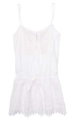 Gabriella loves this Warren Eyelet Dress from Club Monaco's new collections because for her summer is synonymous with lots of white, light airy fabrics, and of course, dresses. It's also ideal companion to take on the HK heat!