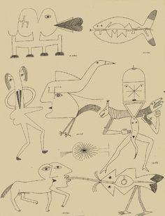 Untitled - Victor Brauner (1963)