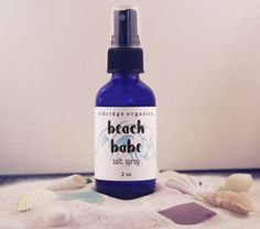 Beach Babe Salt Spray 2 oz  Texturizing Salt by EldridgeOrganics