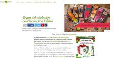 """Gewinnt ein VIVANI Schokoladen-Paket mit 13 Schokoladen! Bei VeganBlatt könnt ihr nur noch heute, am 23. Dezember 2014, ein """"Vegan all-inclusive Schokoset von VIVANI"""" gewinnen..."""