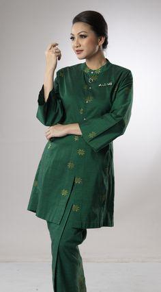 Baju Kurung Kebaya Labuh | Salikin Sidek