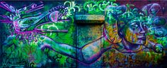 Mural by Joel Bergner. | Best New York City Street Art Of2013