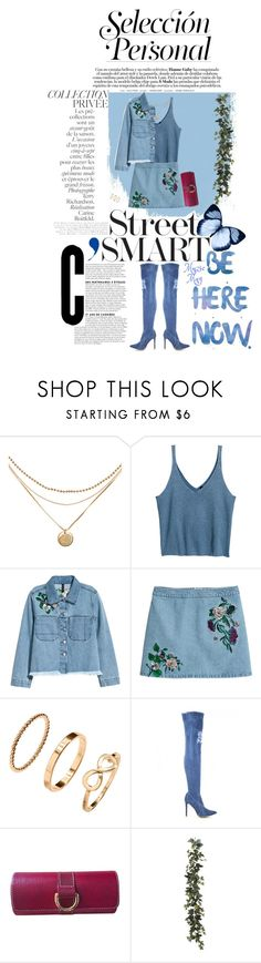 """""""H&M: Selección Personal"""" by muzicmag ❤ liked on Polyvore featuring H&M, Lancel and By Terry"""