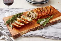 Sometimes, roasting a whole turkey is just too much of an undertaking. A roulade, though? It's surprisingly easy (we swear!), super flavorful, and much easier to carve. Fall Recipes, Thanksgiving Recipes, Passover Recipes, Jewish Recipes, Yummy Recipes, Turkey Roulade, Bbq Pro, Turkey Crockpot Recipes, Chicken Recipes