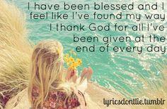 Blessed-Martina McBride