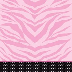 Your wild child's party is not complete without a trendy table cover! Featuring a light pink and hot pink zebra print bordered by a black band accented by white polka dots, the Super Stylish Table Cover harnesses her spirited sweetness! The tablecover i It's Your Birthday, Girl Birthday, Birthday Party Decorations, Party Themes, Zebra Print Party, Plastic Table Covers, Barbie Party, Party Stores, Party Accessories