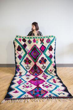 Semikah Textiles Moroccan rug.