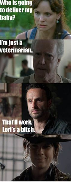 This is my favorite TWD meme XD