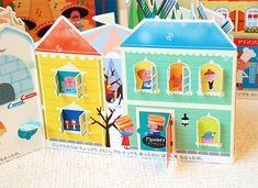 Diy Crafts Hacks, Craft Tutorials, Diy And Crafts, Crafts For Kids, Paper Crafts, Up Book, Book Art, Paper Toys, Children's Book Illustration