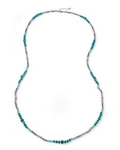 White House | Black Market Lotus Ombre Long Necklace #whbm