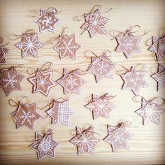 Papírové perníčky na vánoční jarmark Advent, Fall Winter, Quilts, Drink, Abstract, Artwork, Crafts, Food, Summary