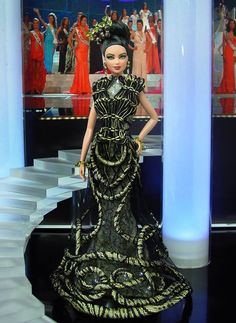 SE Asian Miss Cambodia 2014 pageant doll