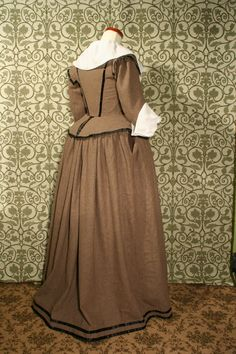 Mme Chantberry- c citizens dress Civil Wars, Colonial Williamsburg, Jacobean, Baroque Fashion, Historical Clothing, 17th Century, Renaissance, 18th, English