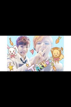 Another one.. So funny  The otp that many of you adore #Vkook or #taekook #weirdos #lovable
