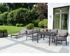 Longview kerti bútor garnitúra antracit 4 részes Outdoor Furniture Sets, Outdoor Decor, Aluminium, Modern, Patio, Design, Home Decor, Lounge Seating
