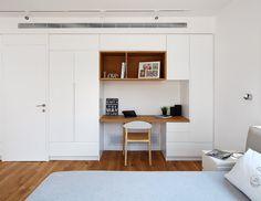Bedroom wall cabinet By studio dulu Israel