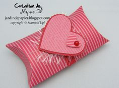 Valentine Pillow Box