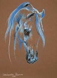 Discover thousands of images about Paulina Stasikowska Horse Pictures, Art Pictures, Horse Drawings, Art Drawings, Horse Stencil, Arte Pop, Pastel Art, Equine Art, Horse Art