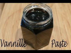 Make vanilla paste without sugar! Best vanilla paste in 2 minutes with 2 ingredients - Low Carb - Bilder Vanille Paste, 2 Ingredients, Nutella, Vanilla, Food And Drink, Low Carb, Homemade, Desserts, Youtube
