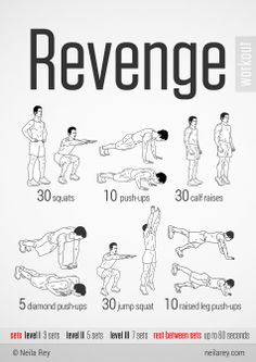 Revenge Workout Sandy Rowley Megastarmedia.com http://www.linkedin.com/in/customwebdesign
