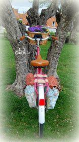 ENTRELAZOS, de tela y amistad.: PIÑON FIJO, Alforjas Cycle Saddle Bag, Saddle Bags, Bike Bag, Wind Chimes, Outdoor Decor, Tela, Riding Bikes, Upcycle, Fixed Gear