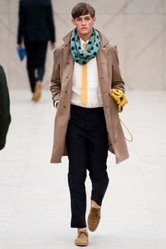 Burberry Prorsum Spring/Summer 2014 | London Collections: Men » The Fashionisto