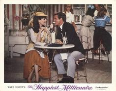 The Happiest Millionaire ( 1967 ) John Davidson and Lesley Ann Warren Disney Family, Walt Disney, Disney Live, Anastasia Cartoon, John Davidson, Quest For Camelot, Musical Film, Classic Films, Live Action