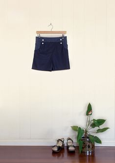 not-too-short shorts are the perfect length for embracing the sun this summer. High-waisted and with sweet detailing by PeppermintMag.com
