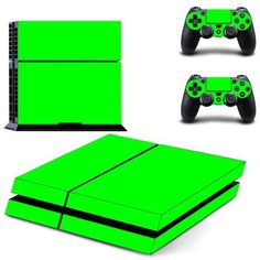 Slime Green Skin - PS4 Protector